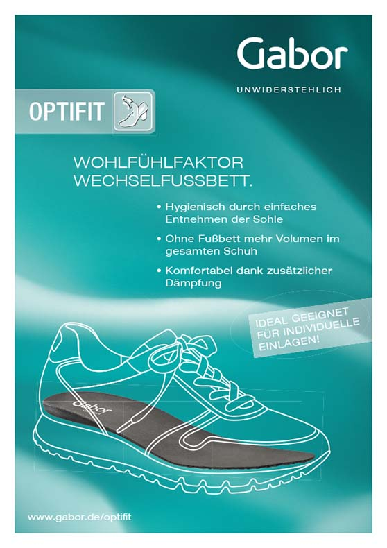 Gabor Ausstattung Optifit