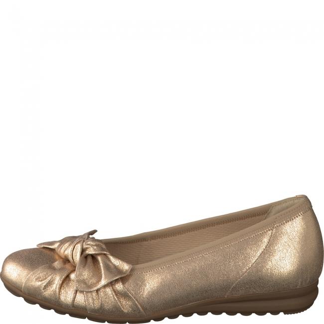 Gabor Ballerina in Sacchetto Machart gefertigt schwarz (36